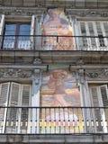 Alcalde de la plaza en Madrid Foto de archivo libre de regalías