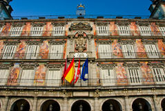 Alcalde de la plaza - Madrid Fotografía de archivo libre de regalías