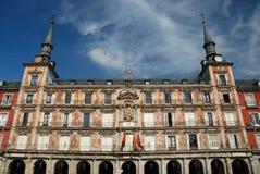 Alcalde de la plaza, Madrid Imagenes de archivo