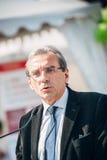 Alcalde de Roland Ries de Estrasburgo Foto de archivo