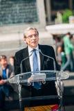 Alcalde de Roland Ries de Estrasburgo Imagenes de archivo