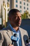 Alcalde Kevin Johnson 3 Fotografía de archivo libre de regalías