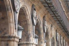 Alcalde monumental de la plaza de Salamanca, ³ n de Castilla y Leà foto de archivo