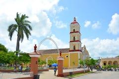 Alcalde Parochial Church de Remedios Imagenes de archivo