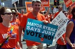 Alcalde R.T. Rybak Fotografía de archivo libre de regalías