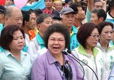Alcalde Speaks de Gaoxiong en la abertura de un nuevo camino Fotografía de archivo libre de regalías