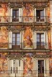 Alcalde Walls Cityscape Madrid España de la plaza Fotografía de archivo