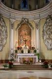 Alcamo - église de Jésus, Sicile photographie stock