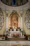 Alcamo - Church of Jesus, Sicily Stock Photography