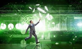 Alcançam seus objetivos Imagens de Stock Royalty Free