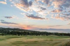 Alcanada Golf Club. Near Alcudia in the north of Mallorca Stock Photo