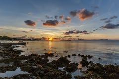 Alcanada sunrise Stock Images