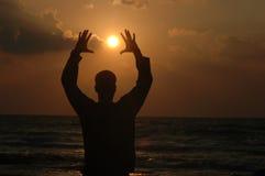 Alcance al sol Fotografía de archivo libre de regalías