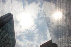Alcance de construção para o céu Imagens de Stock