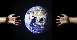 Alcance global Fotografía de archivo libre de regalías