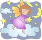 Alcance para o anjo das estrelas/eps Fotografia de Stock