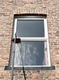 Alcance y sistema de la limpieza de ventana de la colada Fotografía de archivo libre de regalías