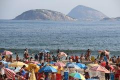 Alcances térmicos 44 da sensação 5 graus Célsio em Rio de janeiro Fotografia de Stock