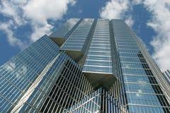 Alcangue o céu - crescimento corporativo Fotos de Stock