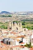 Alcaniz. City of Alcaniz, Aragon, Spain stock photography