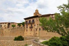 Alcaniz. The center of Alcaniz, Aragon, Spain royalty free stock photo