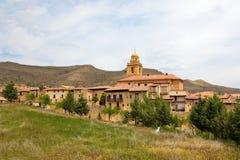 Alcaniz. The old center of Alcaniz, Aragon, Spain Royalty Free Stock Image