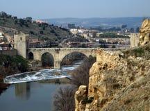 Alcantara bridge. stock photography
