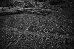 The Alcantara Bridge road 2 Royalty Free Stock Photography