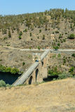 Alcantara bridge Stock Images