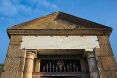 Alcantara  bridge temple Royalty Free Stock Image