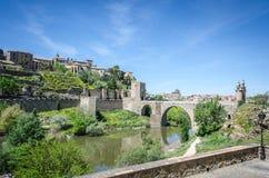 Alcantara bridge Royalty Free Stock Photo