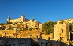 The Alcantara Bridge in Toledo, Spain Stock Images