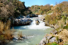Alcantara falls Stock Images