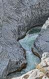 Alcantara River Canyon Royalty Free Stock Image
