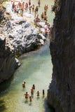 Alcantara river, Italy Royalty Free Stock Photo