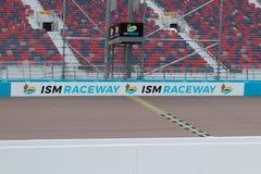 Alcantarilla del ISMO - Phoenix Nascar e IndyCar imagen de archivo