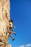 Alcanzar nuevas alturas Fotografía de archivo libre de regalías