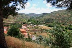 Alcaraz bergketen Albacete Castilla Spai Royalty-vrije Stock Foto