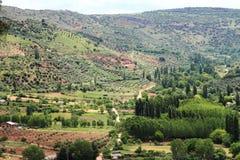 Alcaraz bergketen Albacete Castilla Spanje Stock Fotografie