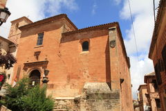 Alcaraz-Dorf Albacete-Olivenölseifen-La Mancha Spanien Lizenzfreie Stockfotos