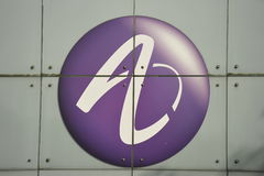Alcatel-Lucent, Company Logo. Company Logo of Alcatel-Lucent Stock Photography