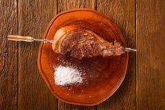 Alcatra,传统巴西烤肉 免版税库存图片