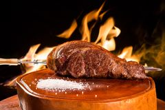 Alcatra, traditional Brazilian barbecue. Gourmet Royalty Free Stock Photo