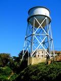 Alcatraz储水箱 库存照片