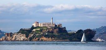 alcatraz弗朗西斯科・圣 库存照片