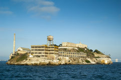 alcatraz弗朗西斯科・圣 免版税库存照片