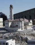 Alcatraz模型 库存图片