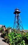 Alcatraz监狱在旧金山,加利福尼亚 免版税图库摄影
