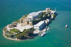 Alcatraz监狱在旧金山 免版税图库摄影