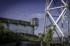 ALCATRAZ监狱,旧金山加利福尼亚 免版税库存照片